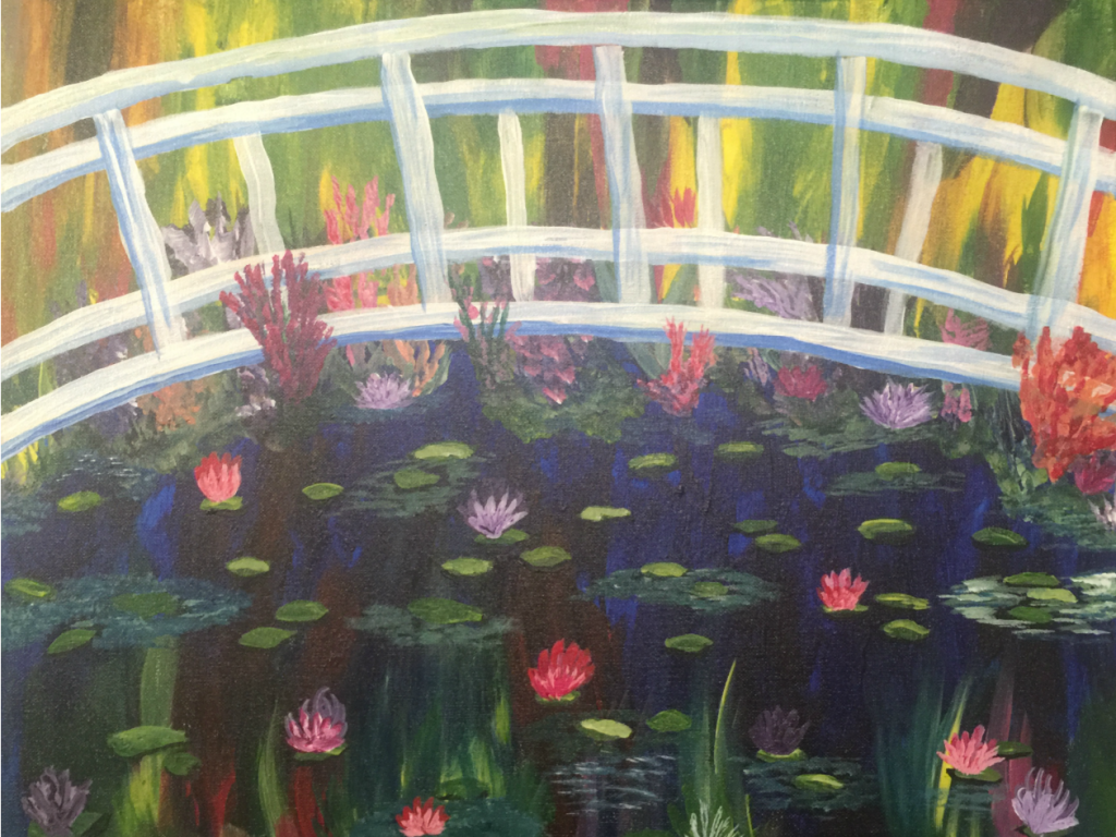 Painting by the Pond with Katie