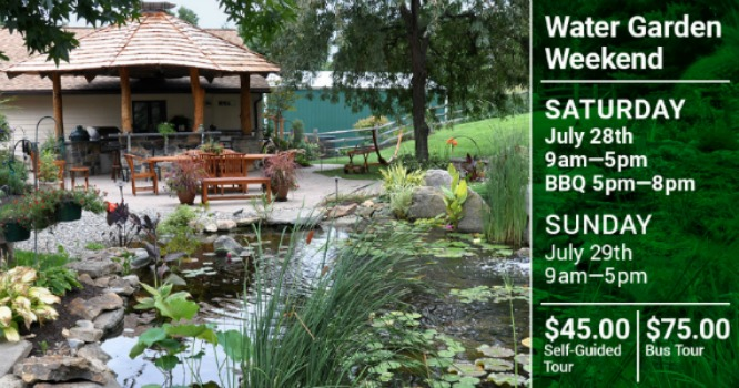 Water Garden Weekend Tour 2018