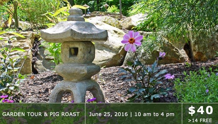Garden Tour & Pig Roast