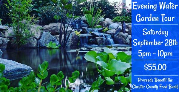 Evening Water Garden Tour 2019