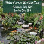 Water Garden Weekend Tour 2019